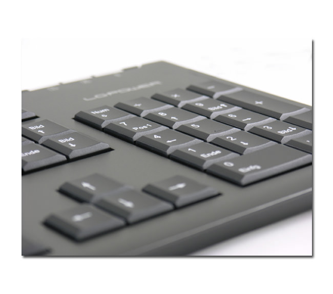 Keyboard LC-KEY-3B close-up