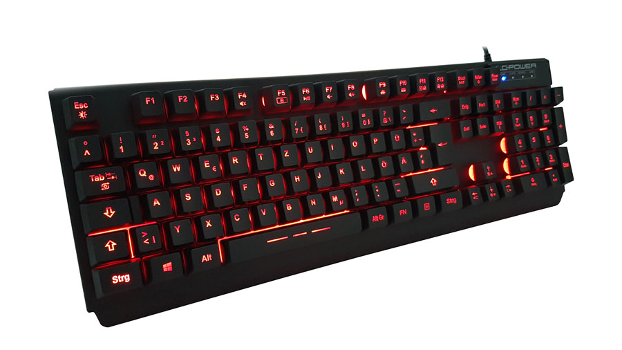 Tastatur LC-KEY-4B-LED