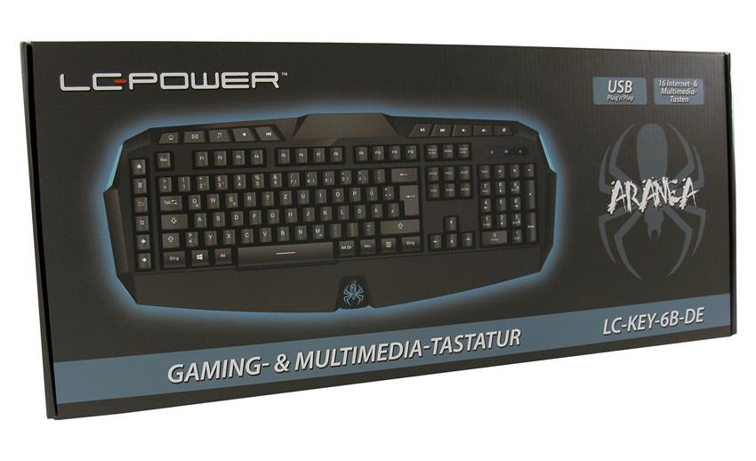 Tastatur LC-KEY-6B-DE Verkaufsverpackung