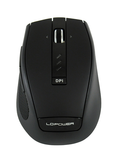 Wireless keyboard LC-KEY-M-1BW mouse