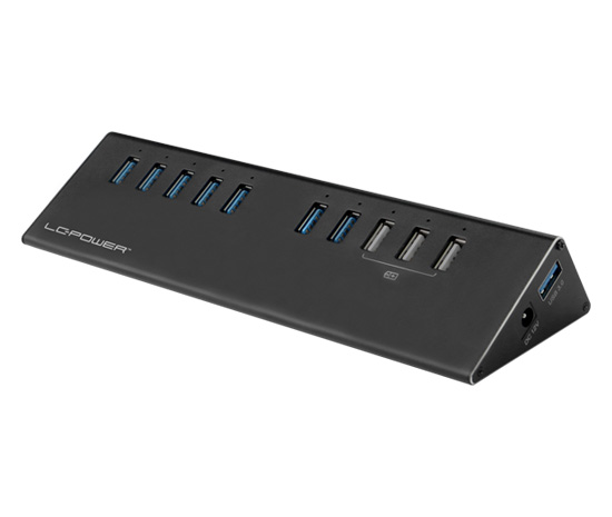 USB hub - LC-HUB-ALU-2B-10