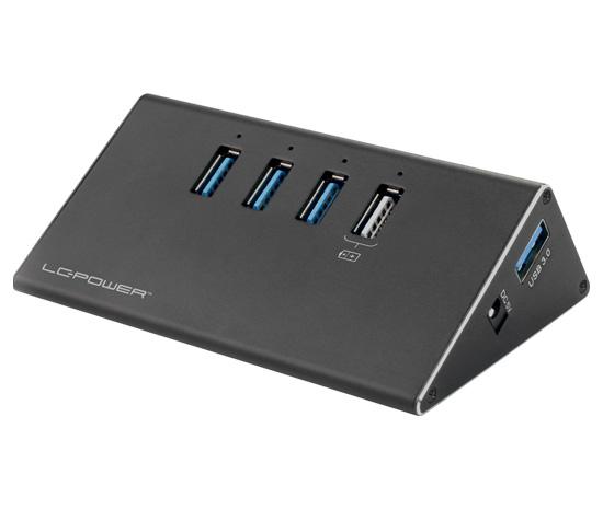 USB hub - LC-HUB-ALU-2B-4