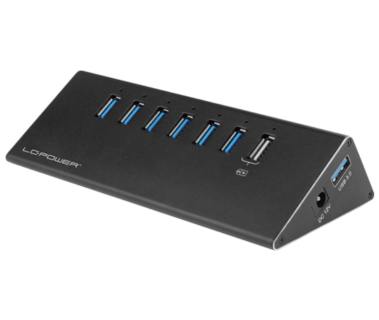 USB hub - LC-HUB-ALU-2B-7