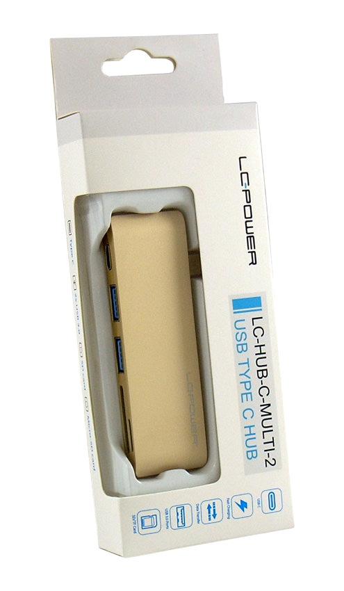 USB-Hub - LC-HUB-C-MULTI-2G - Verkaufsverpackung