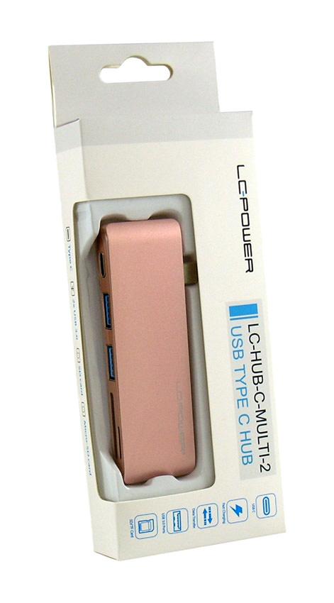 USB hub - LC-HUB-C-MULTI-2R - retail