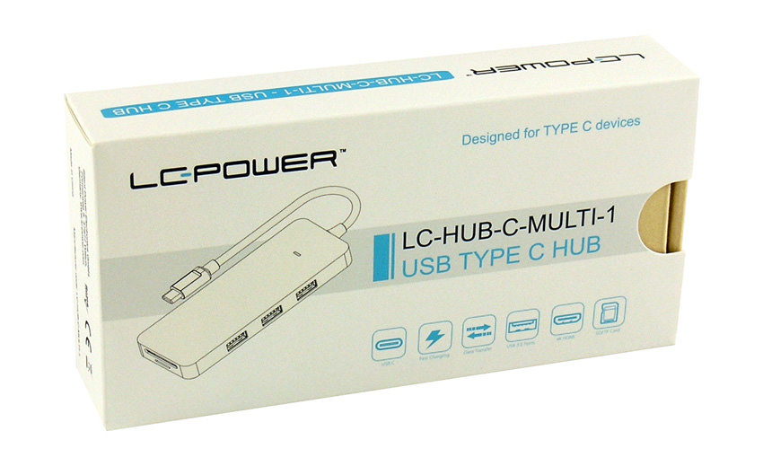 USB-Hub - LC-HUB-C-MULTI-1 - Verkaufsverpackung