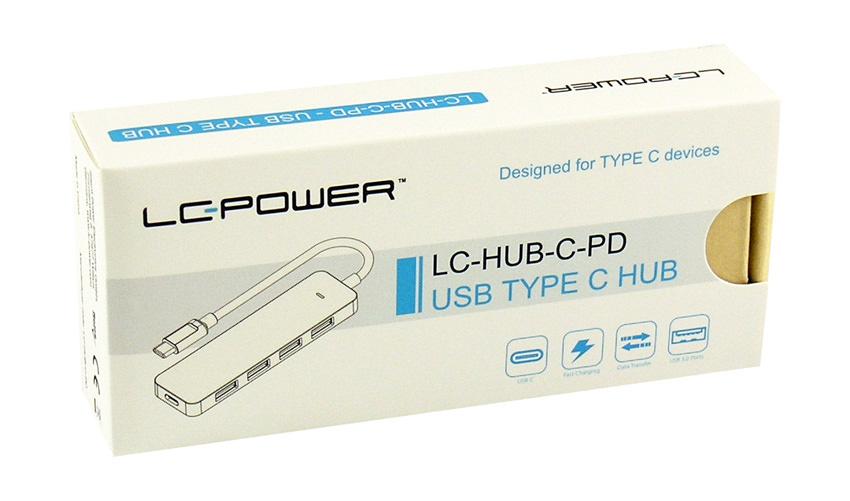 USB hub - LC-HUB-C-PD - retail