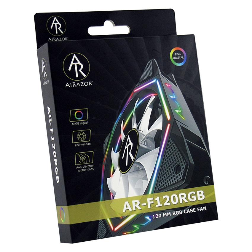 Gehäuselüfter AR-F120RGB Verkaufsverpackung
