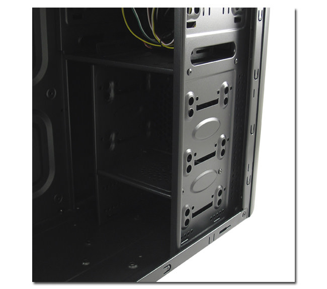 PC-Gehäuse 7017B - Detailansicht