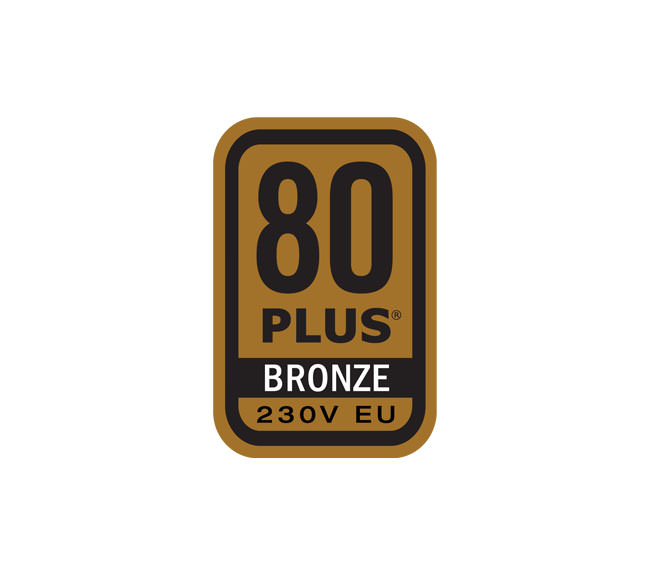 80 PLUS® BRONZE 230V EU Logo
